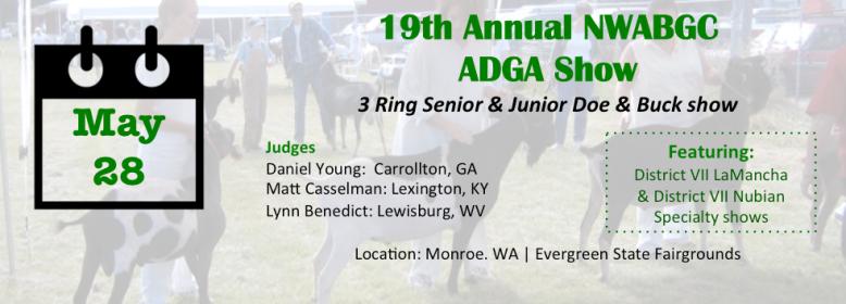ADGA show